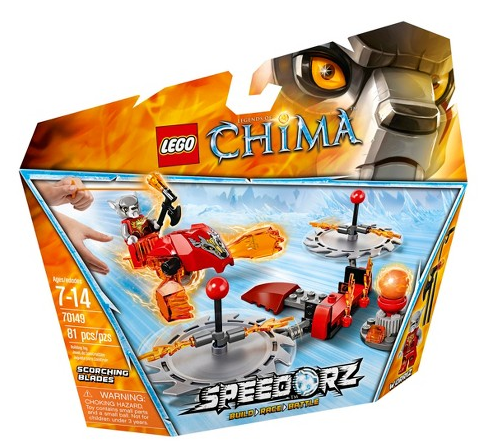 LEGO Legends of Chima Scorching Blades