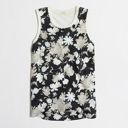 FACTORY PRINTED PANEL-FRONT TANK TOP