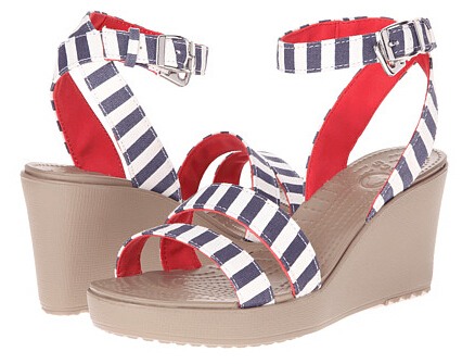 Crocs Leigh Graphic Wedge