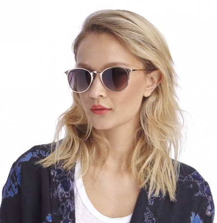 round medium metal sunglasses
