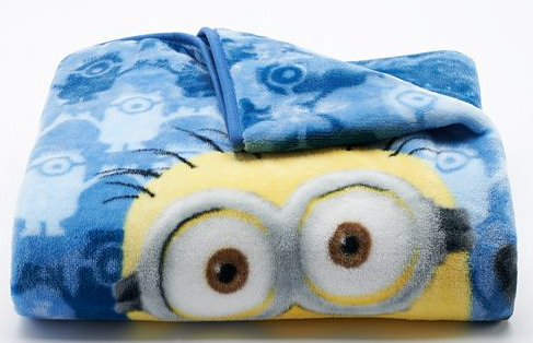Despicable Me Minions Silk Touch Throw