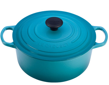 Caribbean 5.5-Qt. Cast Iron French Oven