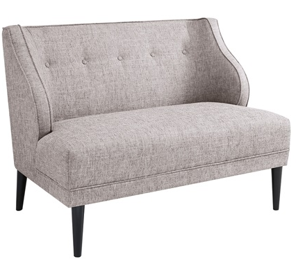 Sorano Tufted Round Arm Full Seat Settee