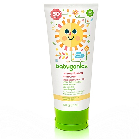 Babyganics® 6 oz. 50+ SPF Mineral-Based Sunscreen