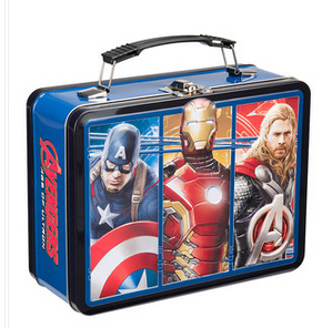 Marvel Avengers Age Of Ultron Movie Tin Lunch Box