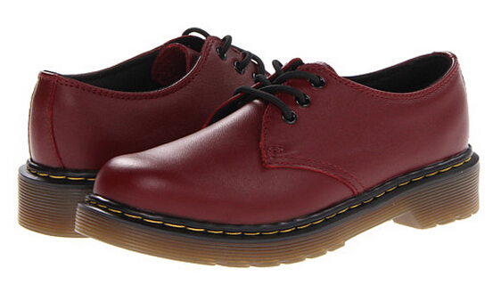 Dr. Martens Kid's Collection Everley Lace Sho