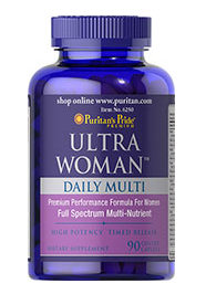 Puritan's Pride Ultra Woman™ Daily Multi Timed Release