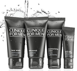 Clinique For Men Great Skin To Go Set - Normal to Dry Skin