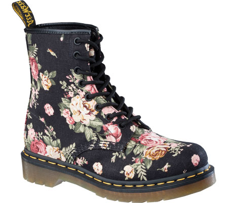 Dr. Martens 1460 8 Eye Boot Victorian Flowers