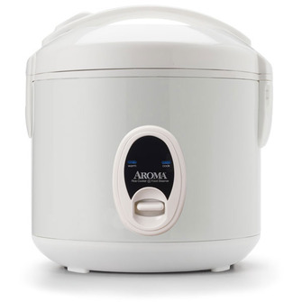 8-Cup (Cooked) Cool-Touch Rice Cooker and Food Steamer