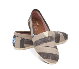 TOMS 'Classic - Stripes' Slip-On (Women)