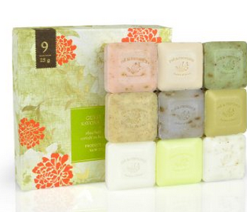 Assorted Shea Butter Enriched Guest Soap Gift Set