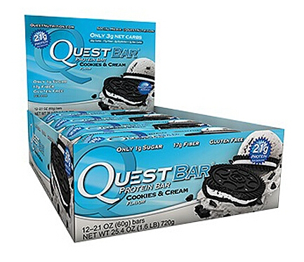 Quest Protein Bar – Cookies and Cream