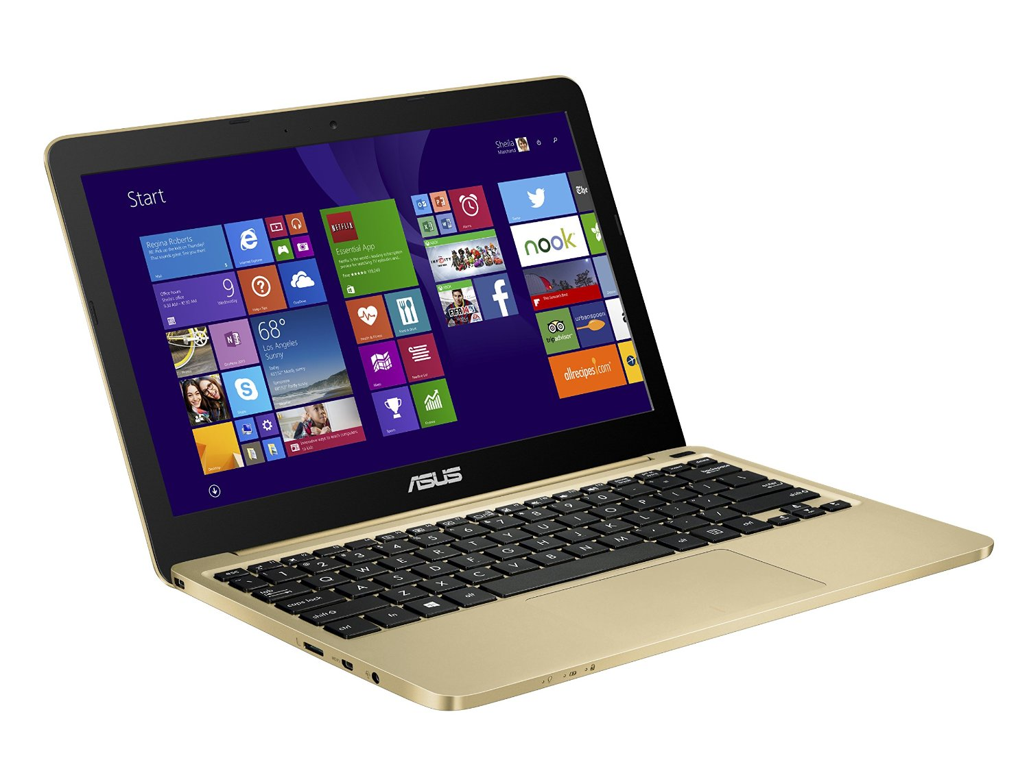 ASUS EeeBook X205TA 11.6-inch Laptop includes Office 365 (Gold)