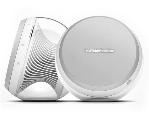 Harman Kardon Nova 2.0 Wireless Bluetooth Stereo Speaker System (White)