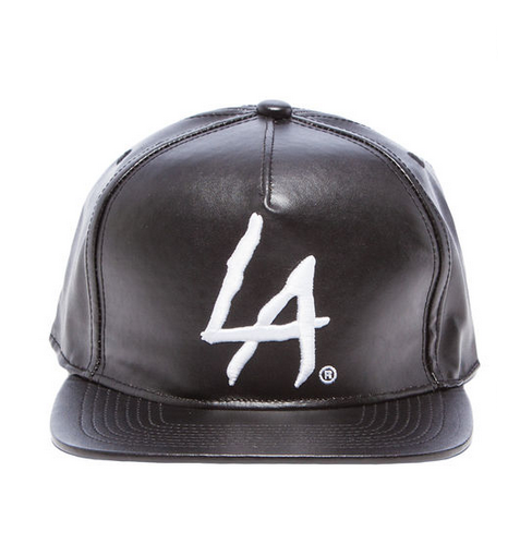 RockSmith The LA Snapback Hat in Black