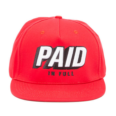 RockSmith The Paid Snapback in Red
