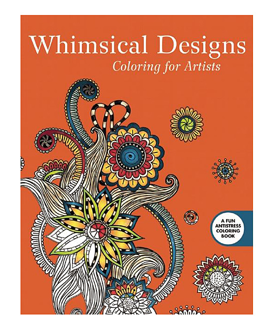 Whimsical Designs: Coloring for Artists Coloring Book