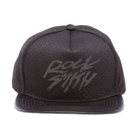 RockSmith The Katakana Snapback in Black