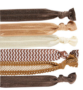 Neutral Mixed Hair Tie Set