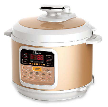 Midea Electric Pressure Cooker MY-CS6002W,6L,120V,2015 New Arriaval