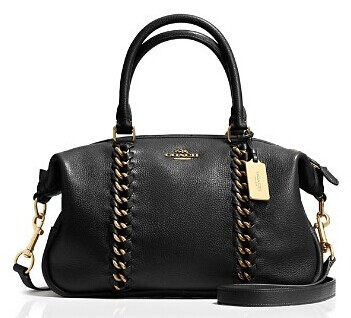 COACH Jumbo Central Satchel in Whiplash Leather