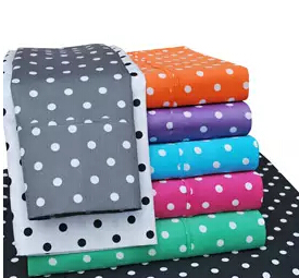 Impressions 600 Thread Count Polka Dot Sheet Set