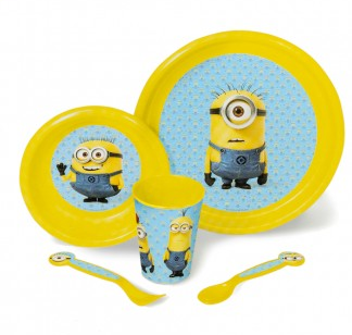Minions 5-piece Dish Set
