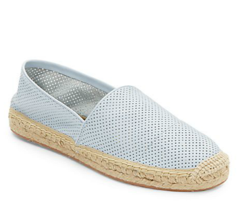 Rebecca Minkoff Gavin Perforated Leather Espadrille Flats