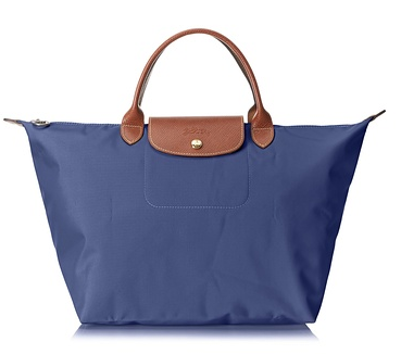Longchamp Le Pliage Sac Porté Main M Top Handle, Navy