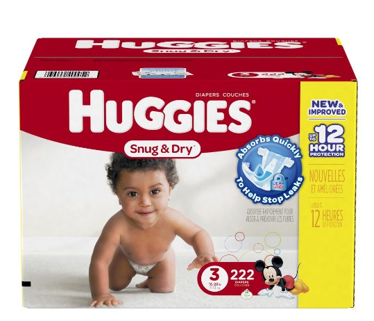 Huggies Snug and Dry Diapers, Size 3