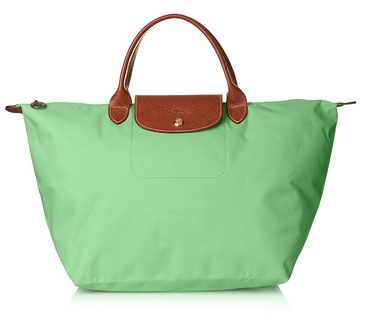 Longchamp Le Pliage Medium Tote, Verde
