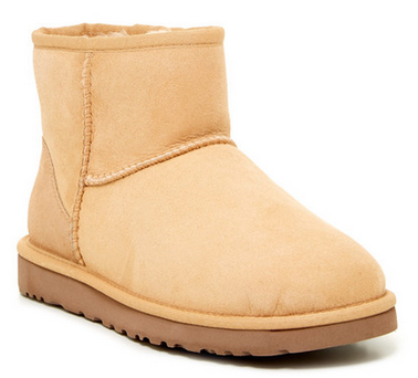 UGG Australia Classic Mini Dyed Genuine Lamb Fur Lined Boot