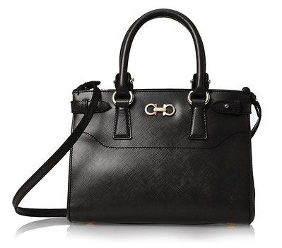 Salvatore Ferragamo Small Tote, Black
