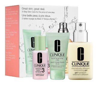 CLINIQUE Great Skin, Great Deal Set for Combination Oily Skin
