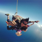 Hawaii,Oahu Island Sky Diving