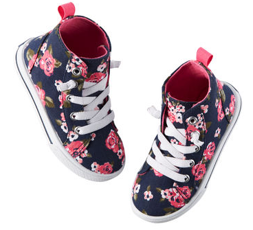 Carter's Floral High Tops