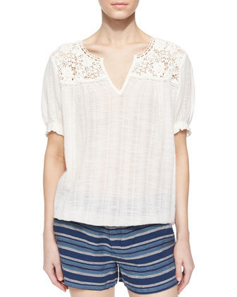 Ondine Embroidered Blouse
