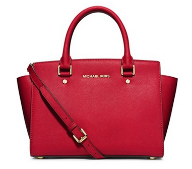MICHAEL Michael Kors 'Medium Selma' Zip Top Satchel