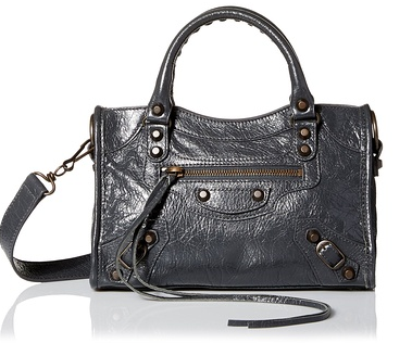 Balenciaga Leather Handbag, Grey