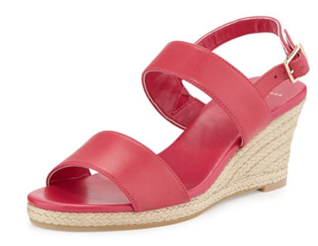 Cole Haan Opha Leather Wedge Sandal, Electra