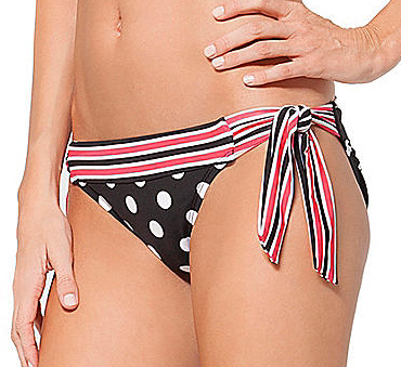 Cole of California City Dots Adjustable Side Tie Bottoms