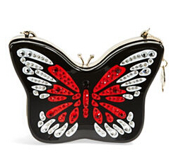 Kate Spade Embellished Butterfly Crossbody Bag