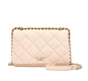 kate spade new york emerson place mini vivenna crossbody bag, soft rosette