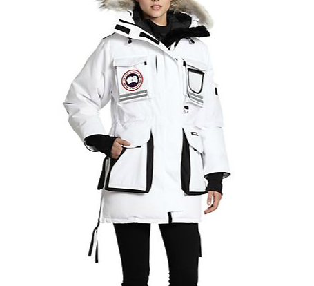 Canada Goose Fur-Trimmed Snow Mantra Down Parka
