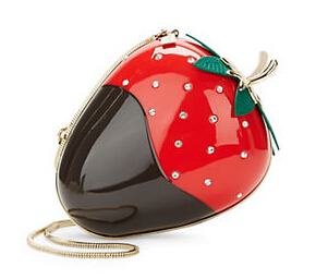 Kate Spade Embellished Strawberry Bag