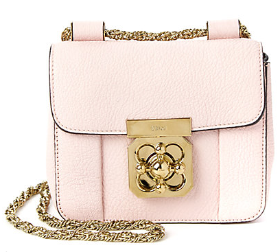 Chloe Elsie Mini Leather Chain Bag