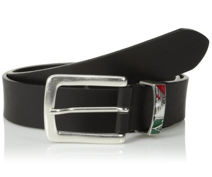 Armani Jeans Men's Italia Leather Belt