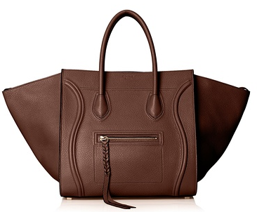 Celine Phantom Medium Tote Bag, Brown