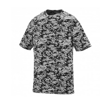 BOYS' DIGI CAMO WICKING T-SHIRT